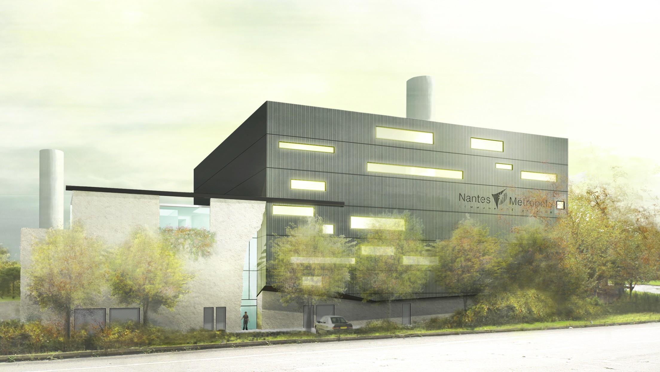 Construction d une chaufferie mixte biomasse sur nantes métropole